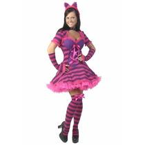 Disfraz Gato De Cheshire Alicia Pais Maravillas Para Damas