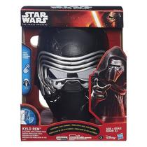 Star Wars Kylo Ren Mascara Modifica Voz,sonidos Hasbro Nuevo
