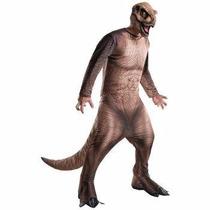 Disfraz De Dinosaurio Rex Parque Jurasico Para Adultos