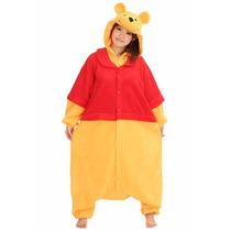 Disfraz / Pijama / Mameluco De Winnie Pooh Para Adultos