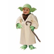 Disfraz De Yoda De Star Wars Para Bebes Y Niños Envio Gratis