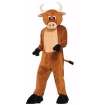 Traje Disfraz Adulto Toro Bull Brutus Felpa Halloween