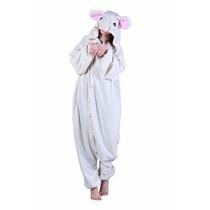 Disfraz / Pijama / Mameluco De Raton Para Adultos
