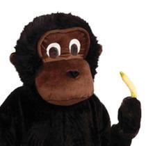 Botarga Traje Completo Disfraz Tamaño Adulto Gorila Pm0