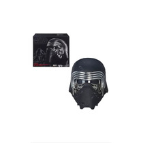 Casco Star Wars Black Series Kylo Ren Con Cambiador De Voz