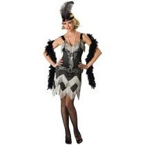 Disfraz De Lujo Charleston Para Damas, Retro, 20