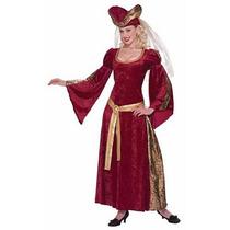 Disfraz Medieval, Historico, Renacimiento, Julieta P/ Damas