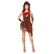 Disfraz De Guerrera, Gladiadora Para Damas, Envio Gratis
