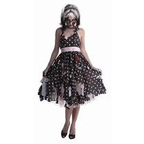 Disfraz De Zombie Retro, Fantasma Para Damas, Envio Gratis