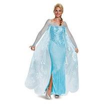 Elsa Prestige Traje Adulto De La Mujer Disfraz