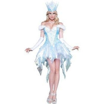 Disfraz De Reina Del Hielo, Frozen Para Damas, Envio Gratis