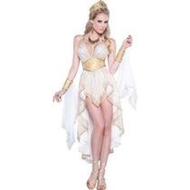 Disfraz De Lujo De Diosa Griega, Romano Para Damas