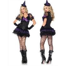° Leg Avenue - Disfraz Sexy - Nena Oscura Bruja Mod. 83781