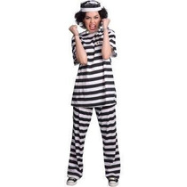 Oferta Disfraz De Prisionera Carcel Encarcelada Para Damas S