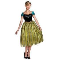 Frozen Anna Coronación De Vestuario De Lujo De La Mujer Disf