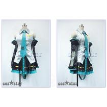 Miku Hatsune Vocaloid Cosplay Disfraz