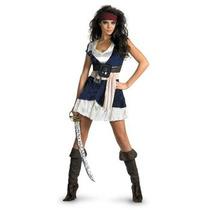Disfraz De Jack Sparrow, Pirata Para Damas, Envio Gratis