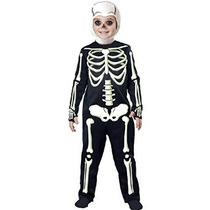 Disfraces California Corto Costillas Esqueleto Disfraz Niño