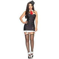 ° Leg Avenue - Disfraz Sexy - Suzy Sigilosa Mod 83620 Remate