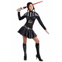 Disfraz De Darth Vader Star Wars Para Damas, Envio Gratis