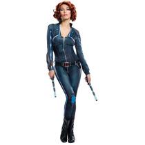 Disfraz Viuda Negra Adulto Mujer Halloween Avengers Black