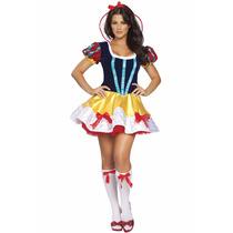 Disfraz Blanca Nieves Adulto Pelicula Fiesta Halloween