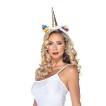 Disfraces Leg Avenue Unicornio Del Arco Iris Con Banda De Su