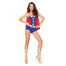 Disfraz De Chica Héroe De Comic 85224