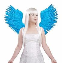 Alas Azules Angel Rio Mariposa Ave Guacamaya Para Adultos