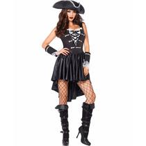 Disfraz Chica Pirata Negro 85210
