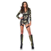 Disfraz Chica Paracaidista Del Ejercito 85292