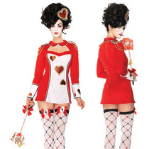 Disfraz Guardiareina De Corazones Leg Avenue Halloween Omm