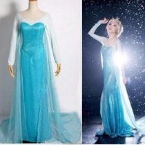 Disfraz Frozen Adulto Princesa Elsa Ana Vestido Fiesta