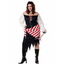 Oferta Unica! Disfraz De Pirata Para Damas Talla 2xl