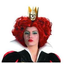 De La Mujer Disfraz Reina Roja Peluca