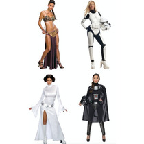 Disfraces Star Wars Adulto Mujer Disfraz Halloween Dama