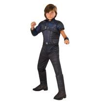 Disfraz Civil War Hawkeye Ojo De Halcon Capitan America Niño