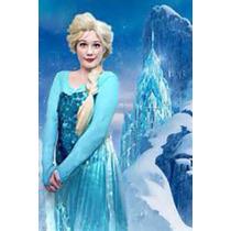 Disfraz Elsa Frozen Adulto Profesional Eventos Todo Incluye