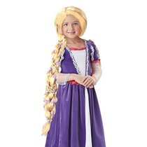 Rapunzel Peluca De California Costume Collection Niño