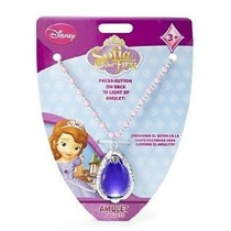 Disney Princesa Sofía Arriba Collar Amuleto First Light