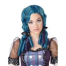 Peluca De Muñeca Azul, Rag Doll Para Niñas, Envio Gratis