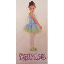 Envio Hermoso Vestido Princesa Azul Nina 18 Meses A 2 Anos