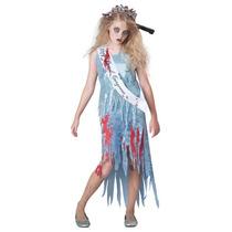 Disfraz De Zombie, Diva, Muerta, Graduada Para Niñas