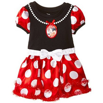 Vestido De Capa De Minnie Mouse Disney Tulle De Los Bebés Co