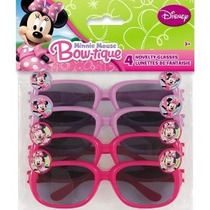 Minnie Mouse Gafas De Disfraz 4ct