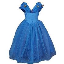 Faermi Girls 2,015 Mariposa Nueva Cenicienta Vestido De La P