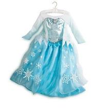 Elsa Frozen Vestido Disfraz Original Disney Store