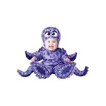 Disfraz Bebe Pulpo Niño Niña Halloween Pulpito