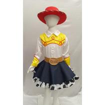 Disfraz Tipo Jessie Vaquerita Toy Story Jessy Con Sombrero