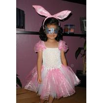 Nuevo Vestido Dress Tutu Disfraz Conejita Primavera Fiesta